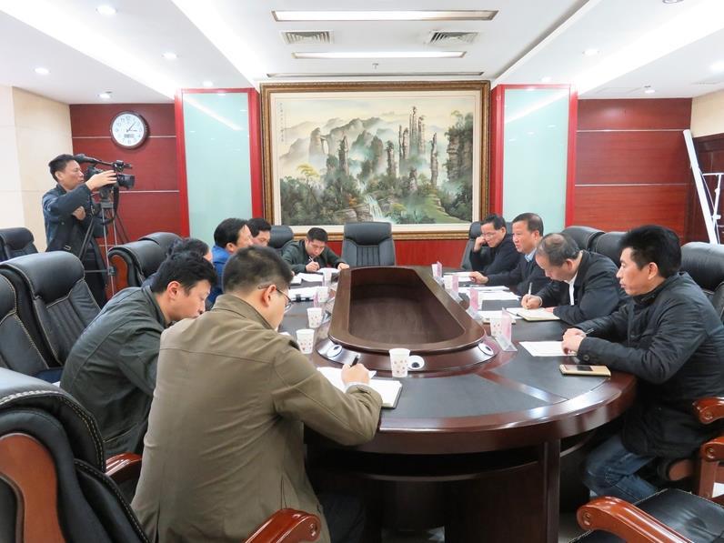 省环保厅联合省公安厅约谈怀化市政府及相关部门,陶佳摄